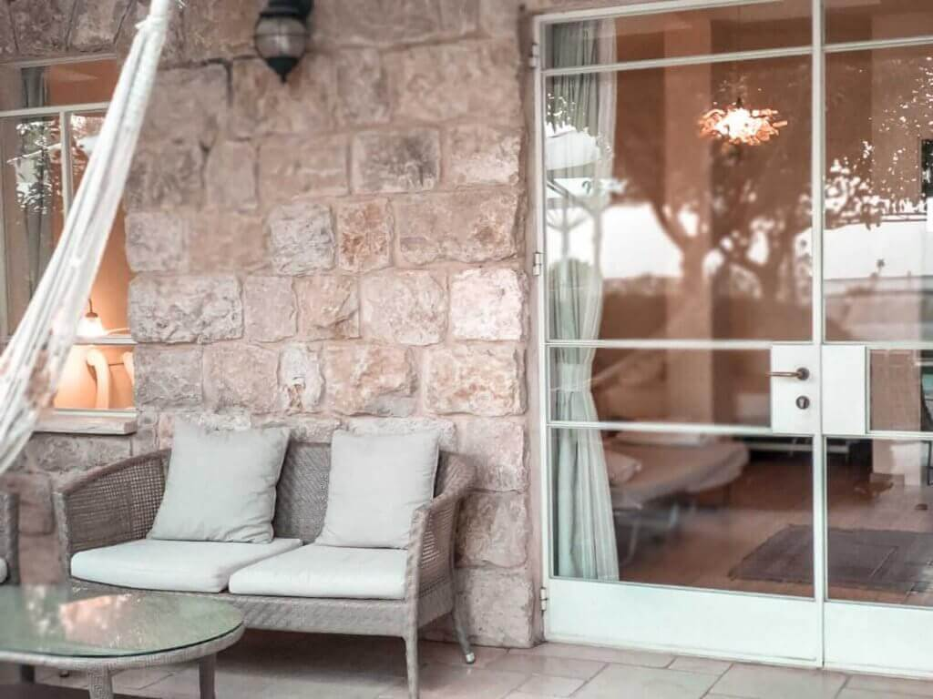 אחוזת יסמין ראש פינה -  מאיה לוי Secretour בלוג תיירות Jasmine House Rosh Pina